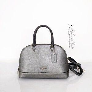 Coach Mini Sierra Satchel Crossbody Leather Bag